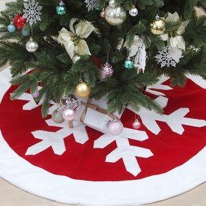 🎀 NEW Christmas Tree Skirt SNOWFLAKE 🎀